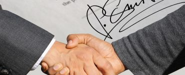 signature contract sign