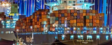 container logistic shipping